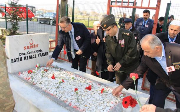 Şehit Dnz.Kom.Onb. Fatih Kemal Yarar'ın anma etkinliğine katıldık.